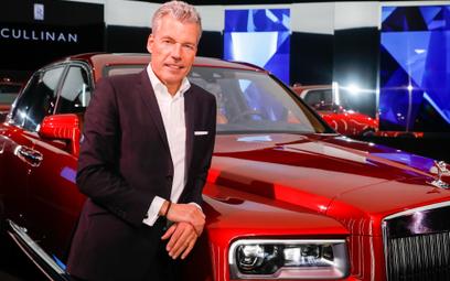 Torsten Mueller-Otvos, prezes Rolls Royce: To diament wśród wszystkich SUV-ów świata
