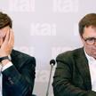 Michał Królikowski i Tomasz Terlikowski podczas prezentacji raportu Komisji Eksperckiej dotyczącego