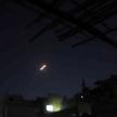 Pocisk wystrzelony przez syryjską obronę przeciwlotniczą