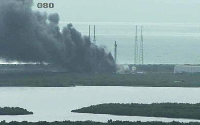Wybuch rakiety w centrum kosmicznym na Florydzie