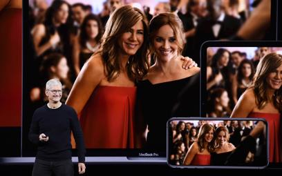 Prezes Apple`a Tim Cook wprowadza na rynek Apple TV+