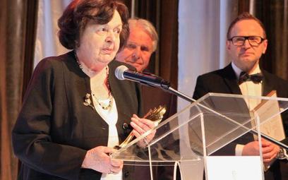 Dr Anna Religa odebrała honorową nagrodę przyznaną nieżyjącemu mężowi Zbigniewowi Relidze