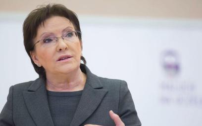 Premier Ewa Kopacz