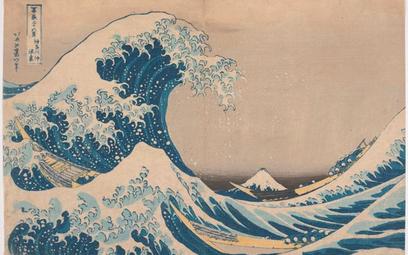 """""""Wielka fala w Kanagawie"""" Hokusaia z 1831 r. inspirowała artystów z całego świata"""