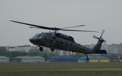 Trzeci śmigłowiec Sikorsky S-70i Black Hawk polskiej Policji. Fot./Łukasz Pacholski.