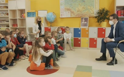 Dzień Dziecka: Premier Morawiecki odpowiada na pytania uczniów