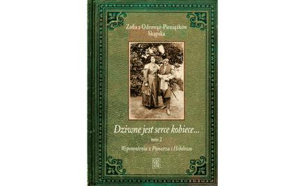"""Okładka książki """"Dziwne jest serce kobiece..."""""""