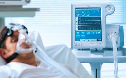 Rośnie produkcja respiratorów