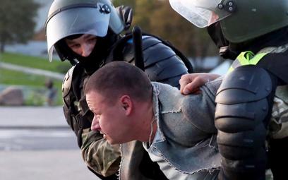 Demonstracje na Białorusi po zaprzysiężeniu Łukaszenki