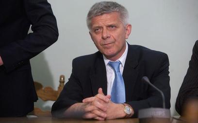 prof. Marek Belka, dyrektor Departamentu Europejskiego Miedzynarodowego Funduszu Walutowego, były po