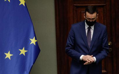 Sprawa budżetu UE. Premier Mateusz Morawiecki w Sejmie