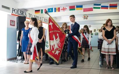 Zakończenie roku w Niepublicznym Kolegium Świętego Stanisława Kostki (liceum i podstawówce) odbywa s