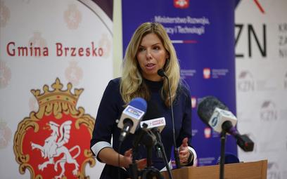 Wiceminister Anna Kornecka