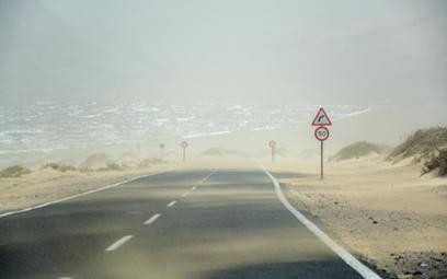 Apokalipsa pogodowa uziemiła Wyspy Kanaryjskie