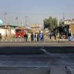 Ludzie zgromadzeni w pobliżu miejsca ataku w Kandaharze