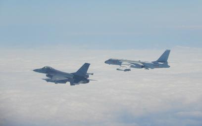 Tajwan poderwał F-16 z powodu chińskich bombowców