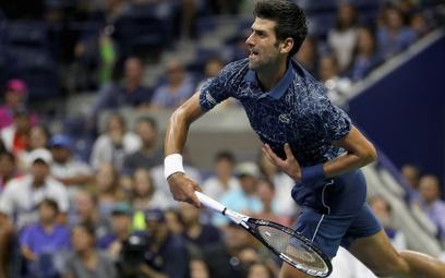 US Open: Trzy sety - i Djokovic gra dalej