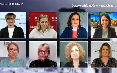 Uczestniczki prowadzonej przez Anitę Błaszczak debaty wskazywały na potrzebę aktywnego włączania się