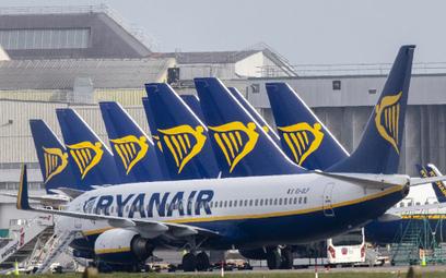 Ryanair przedłuża uziemienie samolotów