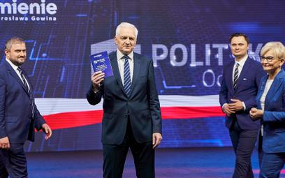 """Gowin przedstawił program Porozumienia. """"Jutro powiem, z kim i jak chcemy zmieniać Polskę"""""""