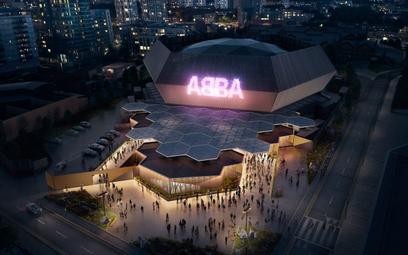 Drewniana hala na 3 tysiące osób – w takim obiekcie odbywać siębędąwirtualne koncerty grupy ABBA.