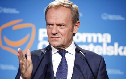 Donald Tusk, p.o. przewodniczącego PO od 3 lipca.