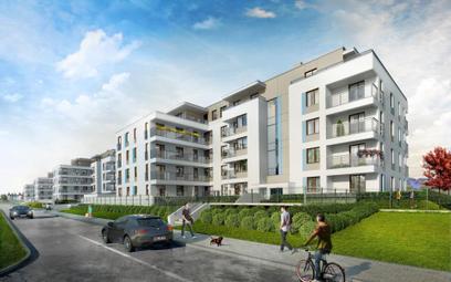 Inwestycję Wille Lazurowa utworzą cztery czteropiętrowe budynki