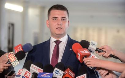 Misiewicz zrezygnował ze stanowiska w PGZ