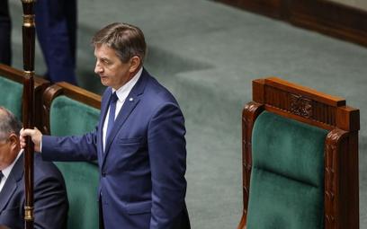Kamiński: Standard cesarza Bokassy - Sejm czeka na Kaczyńskiego