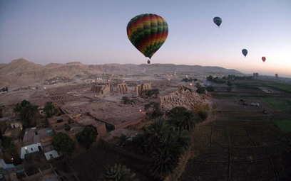 Wypadek turystycznego balonu w Egipcie