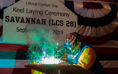 20 września odbyła się uroczystość położenia stępki pod okręt wielozadaniowy USS Savannah (LCS 28),