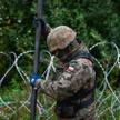 Do tej pory na granicy z Białorusią powstało 136 km płotu i 160 km zapory poziomej