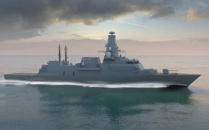 Wizja fregaty Typu 26. Rys./BAE Systems.