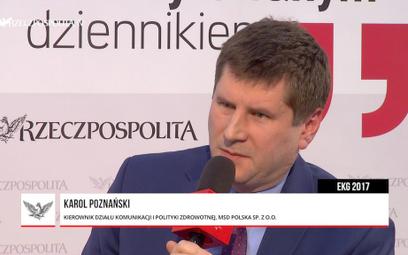 Karol Poznański: Ochrona zdrowia ucieka w debacie publicznej