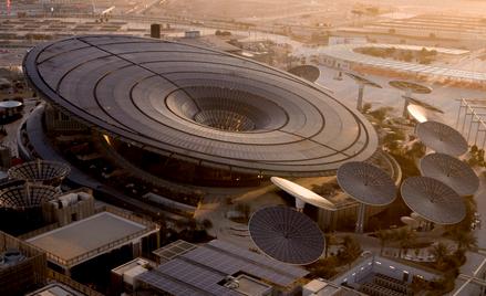 Sustainability Pavilion, jedna z najbardziej śmiałych konstrukcji na Expo w Dubaju.