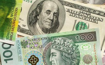 Kurs dolara wywindował raty kredytów w tej walucie. Ich posiadacza nie mogą na razie liczyć na pakie