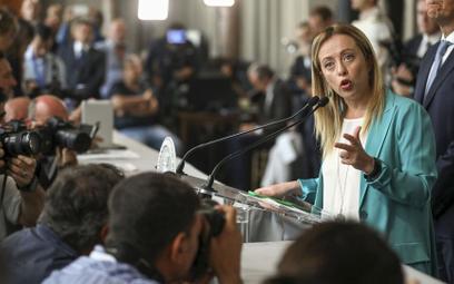 Giorgia Meloni, szefowa Braci Włochów, pozostaje dalece sceptyczna wobec Unii Europejskiej