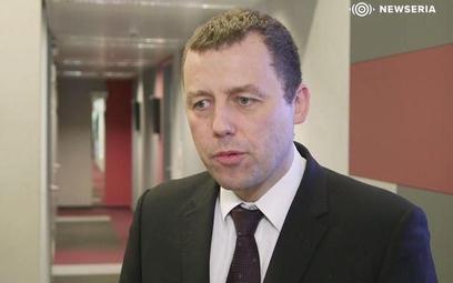 Mikołaj Wild, wiceminister infrastruktury i pełnomocnik rządu ds. Centralnego Portu Komunikacyjnego