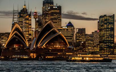 Widok na operę w Sydney