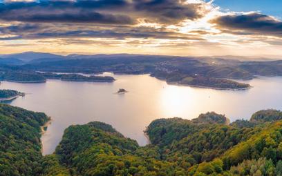 W okresie wzmożonego ruchu turystycznego ilość ścieków dopływających do oczyszczalni w Solinie zwięk
