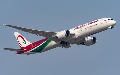 Samolot marokańskich linii lotniczych
