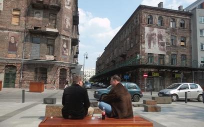Kamienice przy Próżnej w Warszawie należące przed wojną do Żydów