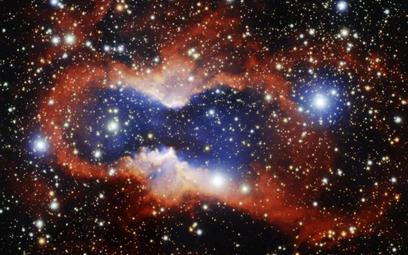 Astronomowie wykonali efektowne zdjęcie mgławicy