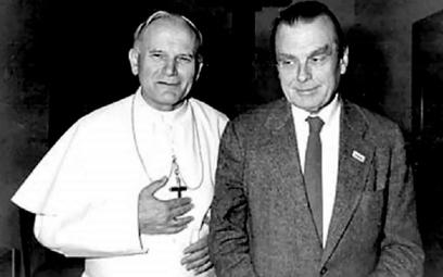 Jan Paweł II i Czesław Miłosz. Tylko dzięki zdecydowanej postawie papieża polski noblista mógł spocz