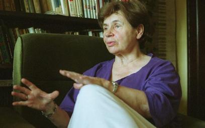 Zofia Romaszewska, działaczka opozycyjna z czasów PRL.