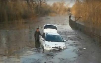 Powódź w okolicach Ufy