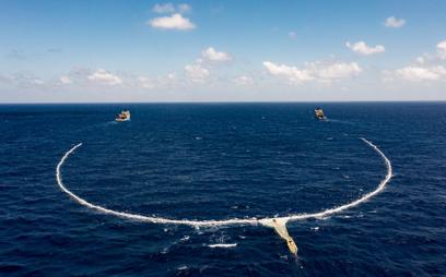 Ocean Cleanup ma nową broń. Jenny oczyści oceany z plastiku