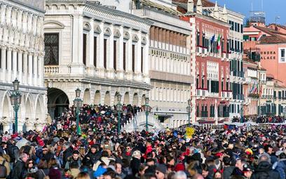 Wenecja podczas karnawału 2018