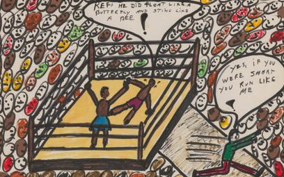 """Praca """"Sting Like A Bee"""" z 1978 roku sprzedana za blisko 1,7 miliona złotych."""