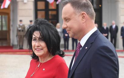 Prezydenci Gruzji i Polski we wtorek w Warszawie